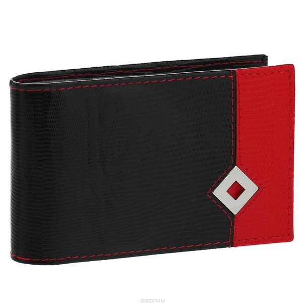 """Визитница """"papillon noir"""", цвет: черный, красный. 317, Dimanche"""