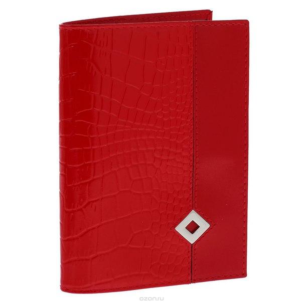 """Обложка для паспорта """"papillon rouge"""", цвет: красный. 330, Dimanche"""