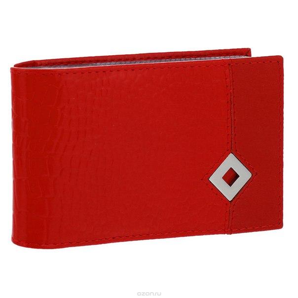 "Визитница  ""papillon rouge"", цвет: красный. 337, Dimanche"