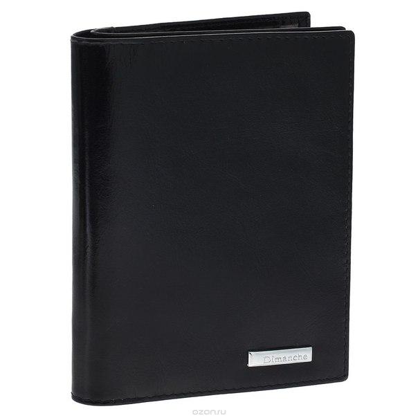 """Бумажник водителя """"flash"""", с отделением для паспорта, цвет: черный. 351, Dimanche"""
