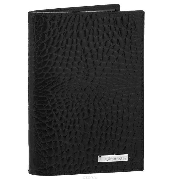 """Обложка для паспорта """"loricata"""", цвет: черный. 380, Dimanche"""