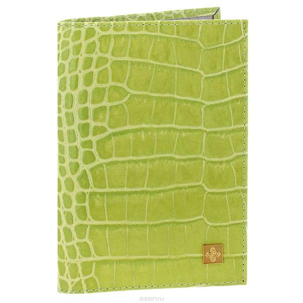 """Обложка для паспорта женская """"lime"""", цвет: лайм. 391, Dimanche"""