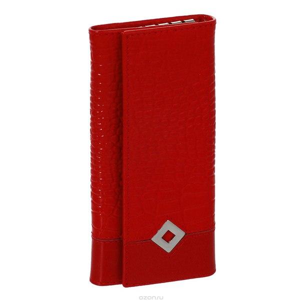 "Ключница  ""papillon rouge"", цвет: красный. 484, Dimanche"