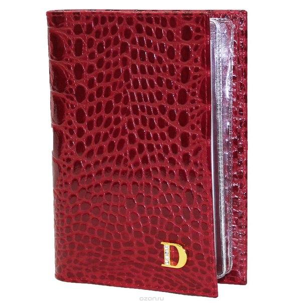 """Бумажник водителя  """"loricata rouge"""", цвет: красный. 551, Dimanche"""