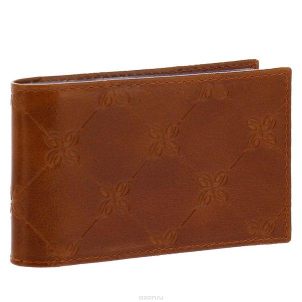 "Визитница ""louis brun"", цвет: коричневый. 599, Dimanche"