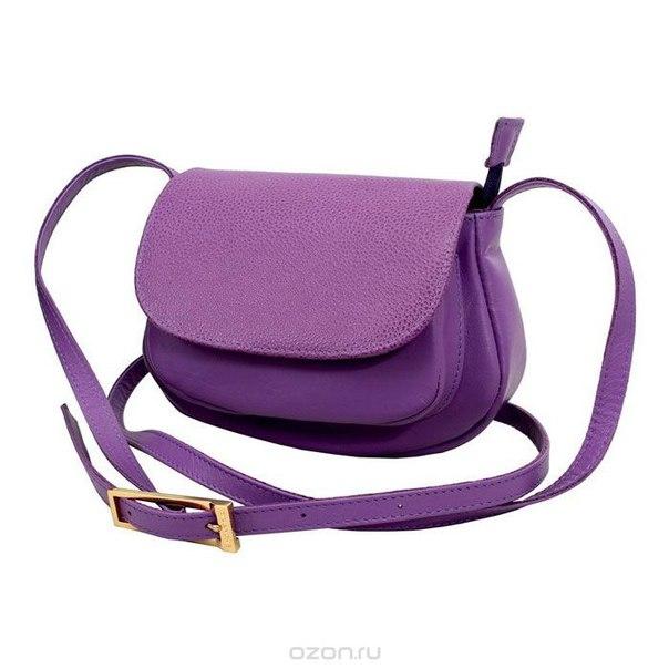"""Сумка женская  """"вивьен"""", цвет: пурпурный. 689/34, Dimanche"""