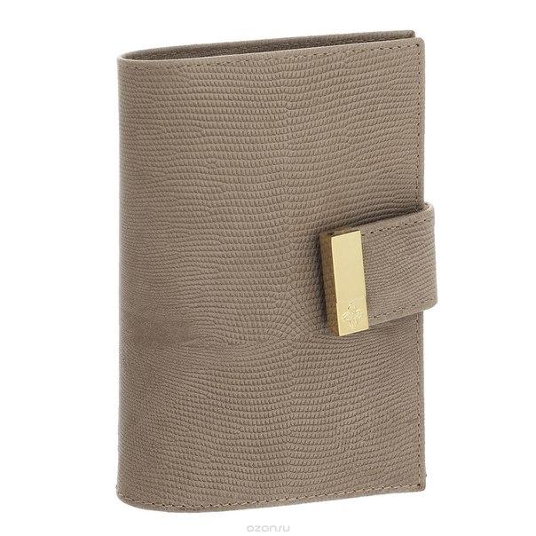 """Обложка для паспорта """"elite beige"""", цвет: бежевый. 730, Dimanche"""