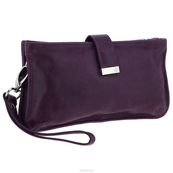 """Клатч-косметичка """"elite violet"""", цвет: фиолетовый. 885, Dimanche"""
