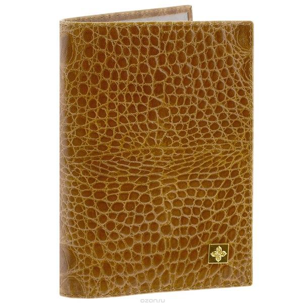 """Обложка для паспорта """"nugget"""", цвет: горчичный. 900, Dimanche"""