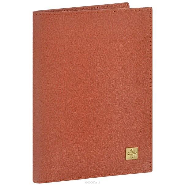 """Обложка для паспорта женская """"corail"""", цвет: коралловый. 940, Dimanche"""