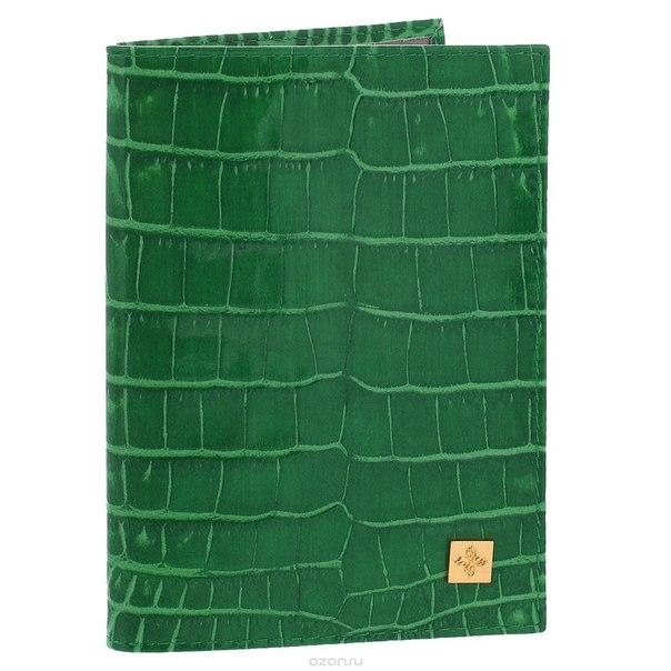 """Обложка для паспорта """"казино"""", цвет: зеленый. 980, Dimanche"""