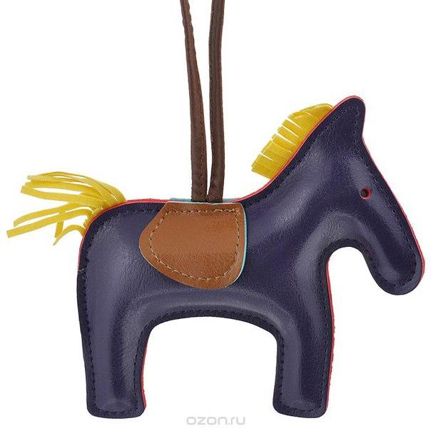 Подвеска на сумку , цвет: фиолетовый. лошадка 19, Cheribags