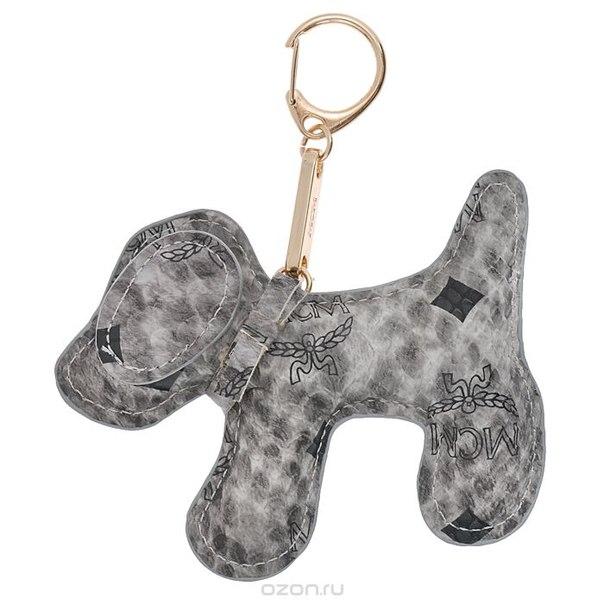 Подвеска-брелок , цвет: серый. собака 12, Cheribags