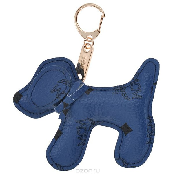 Подвеска-брелок , цвет: синий. собака 17, Cheribags