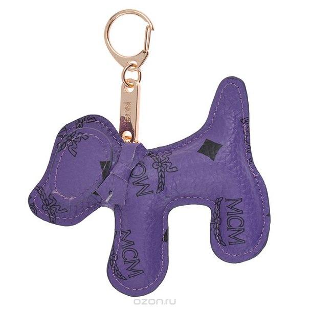 Подвеска-брелок , цвет: фиолетовый. собака 19, Cheribags