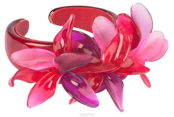 Браслет , цвет: бордовый, розовый. bn2527/2, Lalo Treasures