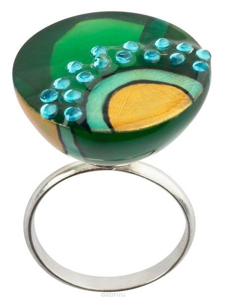 Кольцо , цвет: мульти. r6784m, Lalo Treasures