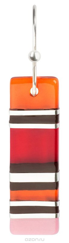 Серьги , цвет: красный, розовый. e3526/4, Lalo Treasures