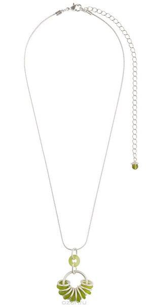 Колье , цвет: светло-зеленый, серебристый. p4462/3, Lalo Treasures