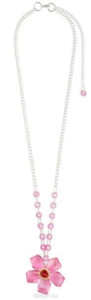 Колье , цвет: розовый, серебристый. p4469, Lalo Treasures