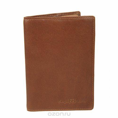 Обложка для паспорта , цвет: коричневый. 2464 messico, Sergio Belotti