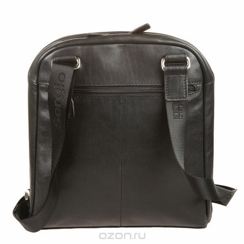 Сумка-планшет мужская , цвет: черный. 9304, Sergio Belotti