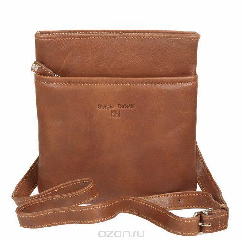 Планшет мужской , цвет: коричневый. 9551, Sergio Belotti