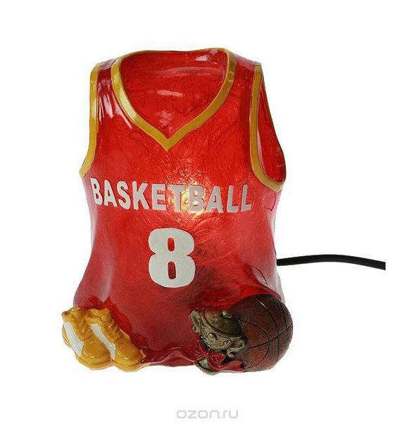 "Декоративный светильник ent. ""баскетбол"" 14*12*18 см., Win Max"