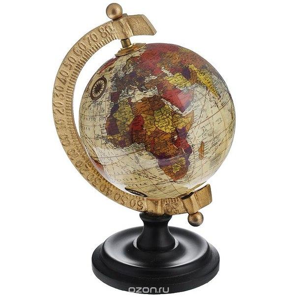 Глобус настольный , диаметр 10 см. 35830, Win Max