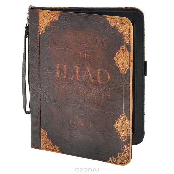 "Чехол-обложка ""илиада"" для планшета ipad, цвет: коричневый. 184224, Win Max"