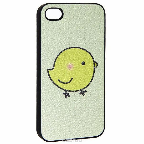 """Кавер на iphone 4 """"i цыпа"""", цвет: желтый. 0700776, Ezh-style"""