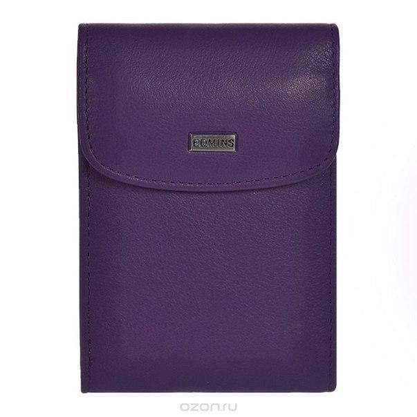 Футляр для визиток , цвет: фиолетовый. 1703-s-ml-ed/1n violet, Edmins