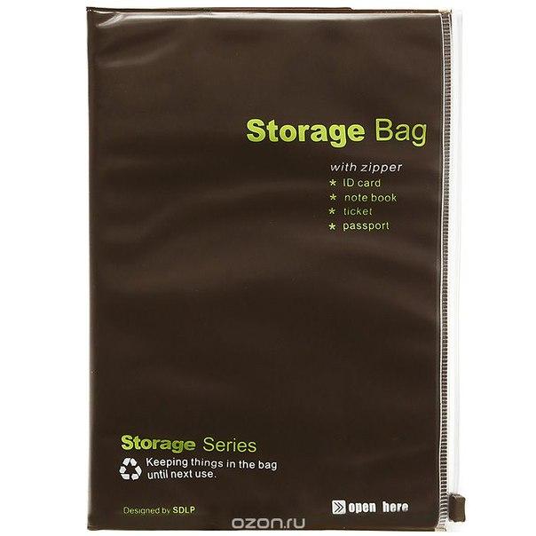 """Папка-блокнот для документов """"storage bag"""", Ezh-style"""