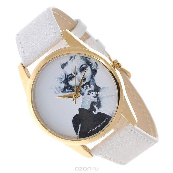 "Часы наручные  ""монро с бусами"". shine-10, Mitya Veselkov"
