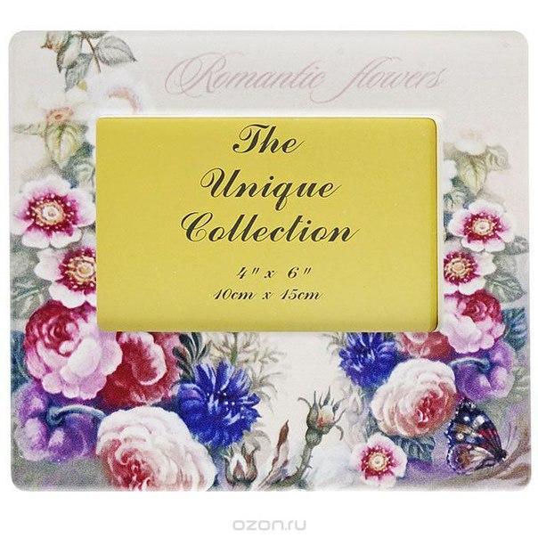 """Фоторамка """"цветы"""", 10 см x 15 см. 25797, Феникс-презент"""
