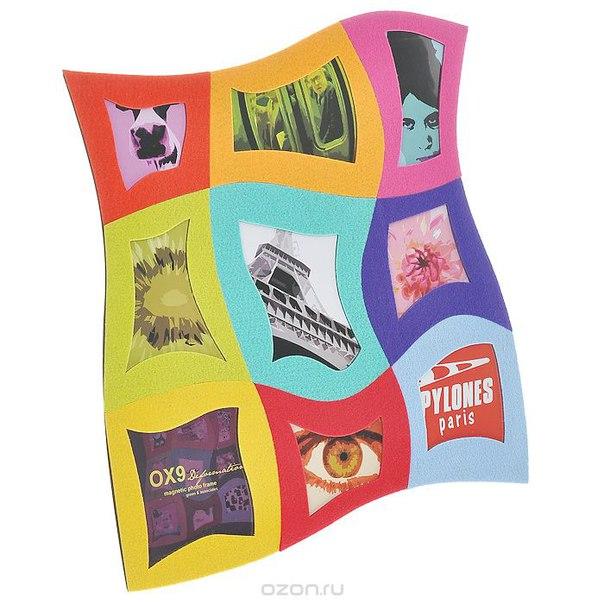 """Фоторамка  """"dali"""", цвет: мультиколор, на 9 фотографий. ox9 d dal, Pylones"""