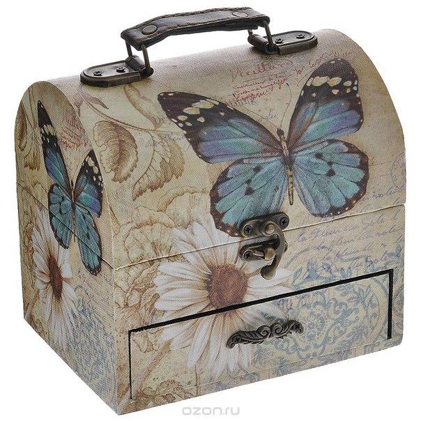 "Шкатулка для хранения ""бабочки"", 17 см х 13 см х 16 см. tl1928, Fujian Sanmu Import&Export Trade Co.,Ltd"
