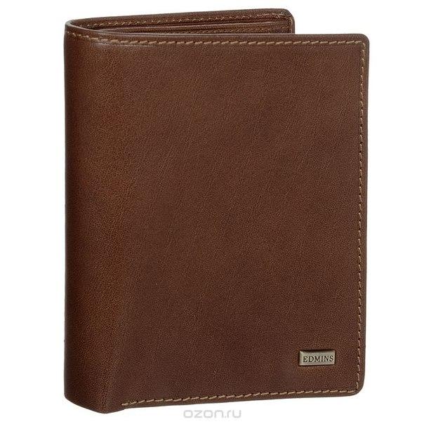 Портмоне , цвет: коричневый. 1422 ml ed brown, Edmins