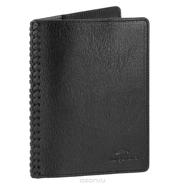 Обложка для паспорта , цвет: черный. 3304-001 v/black, Cangurione