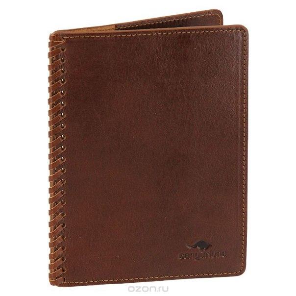 Обложка для паспорта , цвет: коричневый. 3304-004 v/tan, Cangurione