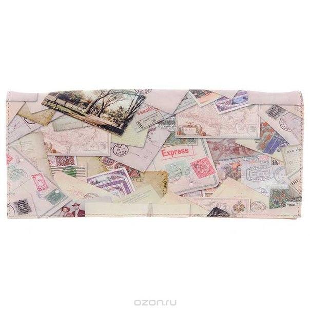 Клатч , цвет: бежево-розовый. 10184-18/1070/606, Flioraj