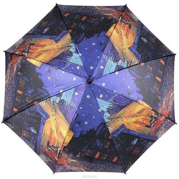 """Зонт-трость """"терраса ночного кафе"""", полуавтомат. 1001-22, Fuzhou Bigbrella Import And Export Co., Ltd."""