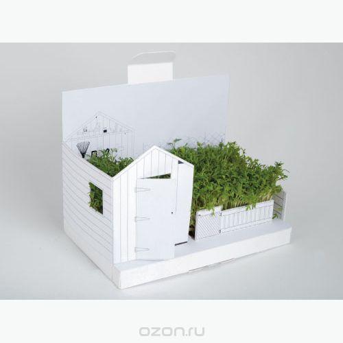 """Открытка postcarden """"огород"""". 00148, BORЯN"""
