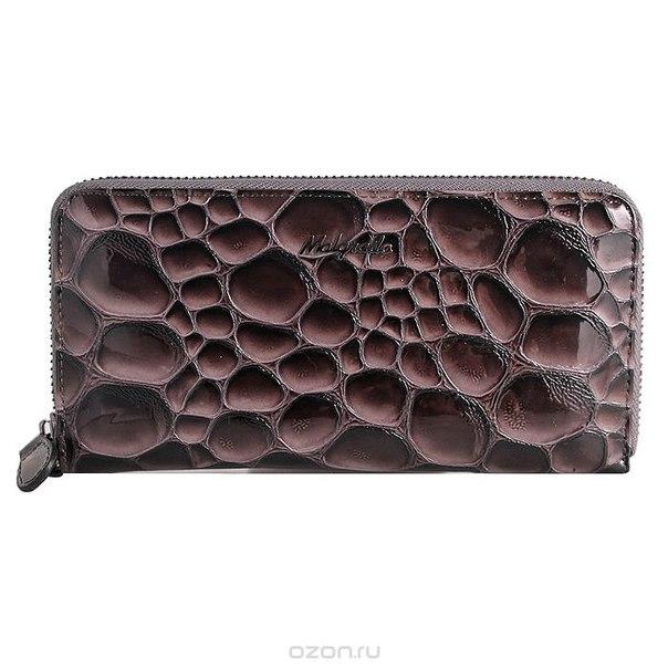 Клатч-кошелек женский , цвет: серый. 73005-20502#, Malgrado