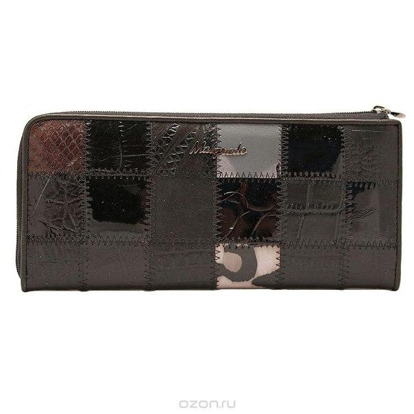Клатч , цвет: черный. 76002a-239a, Malgrado