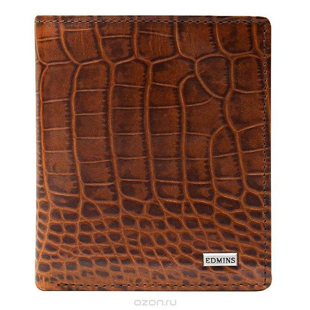 Портмоне женское , цвет: коричневый. 1165 сr ml, Edmins
