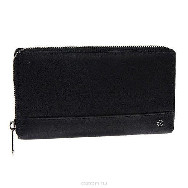 Портмоне-клатч , цвет: черный. 011b-905201, Avanzo Daziaro