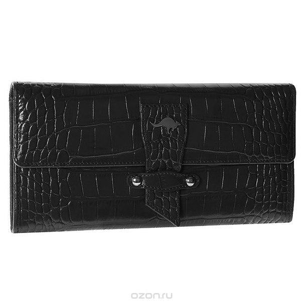 Портмоне женское , цвет: черный. 2183-001, Cangurione