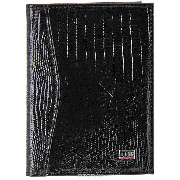 Обложка для автодокументов , цвет: черный. 148-005 001, Butun