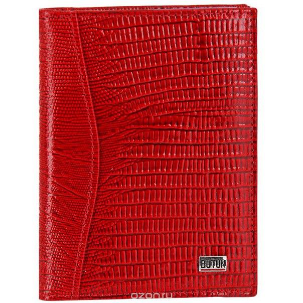 Обложка для автодокументов , цвет: красный. 148-005 006, Butun